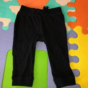Black old navy joggers
